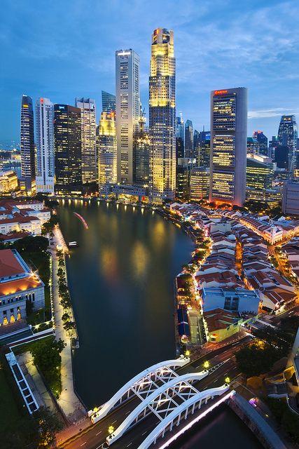 dovolenka Singapur
